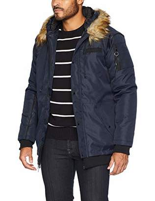Members Only Men's Oxford Snorkel Jacket