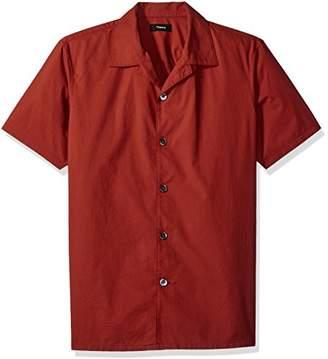 Theory Men's Havana Np Rip Stop 50's Shirt
