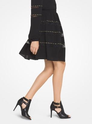 fd5f1638cc04 MICHAEL Michael Kors Black Leather Sole Women's Boots - ShopStyle