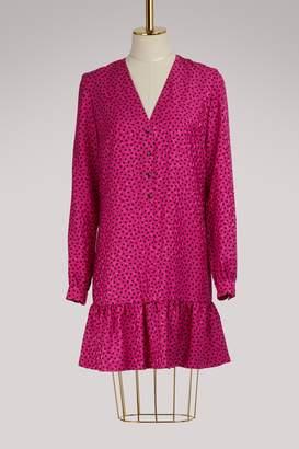 Vanessa Seward Flora silk dress