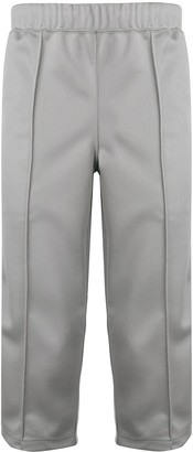 Comme des Garcons striped cropped trousers