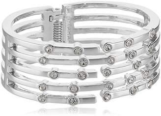 T Tahari BTGD CRY Hinge Cuff Bracelet