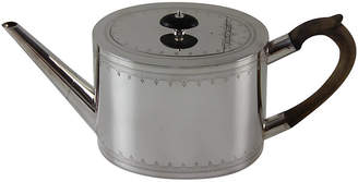 One Kings Lane Vintage English Oval Engraved Teapot - C.1860