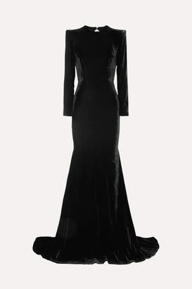 The Black Velvet Gown - ShopStyle