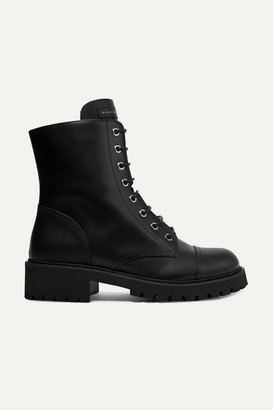 Giuseppe Zanotti Chris Leather Ankle Boots - Black