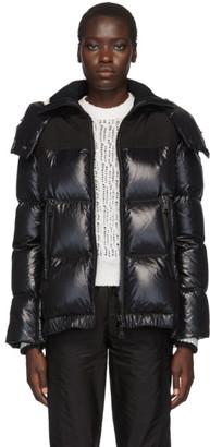 Moncler Black Wouri Hooded Down Jacket