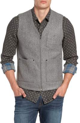 Jeremiah Cambria Heathered Zip Vest
