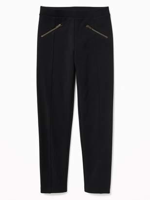 Old Navy Zip-Pocket Stevie Ponte-Knit Leggings for Girls