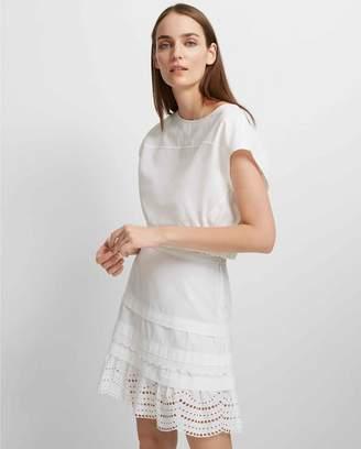 Club Monaco Lettee Cotton Skirt