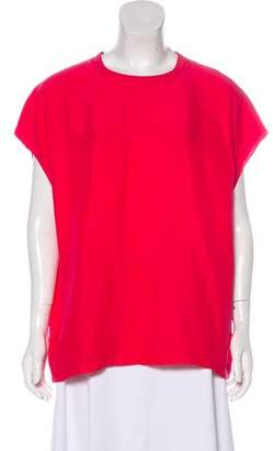 Closed Silk Oversize Top w/ Tags