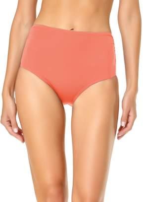 Anne Cole Mid-Rise Shirred Bikini Bottom
