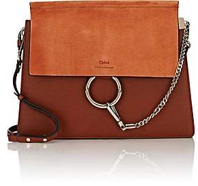 Chloé Women's Faye Medium Leather Shoulder Bag - Brown