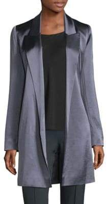 Lafayette 148 New York Naveah Open-Front Jacket