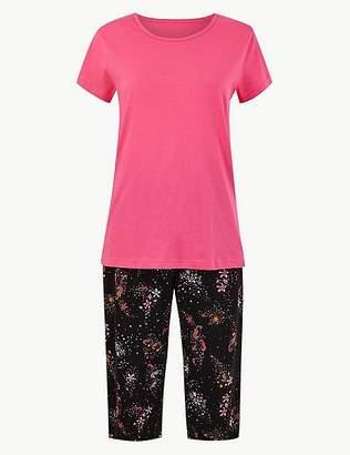 94185f93dff Marks and Spencer Pure Cotton Seahorse Pyjama Set