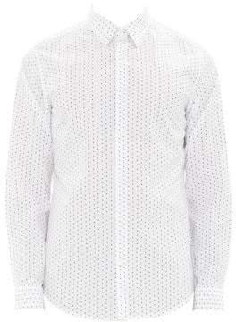 Theory Irving Polka-Dot Print Shirt