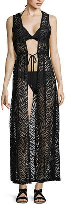 LM BEACH Lm Beach Lace Swimsuit Cover-Up Dress