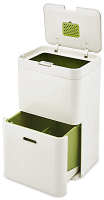 Joseph Joseph Intelligent Waste Totem Recycling Separation Unit, 48L