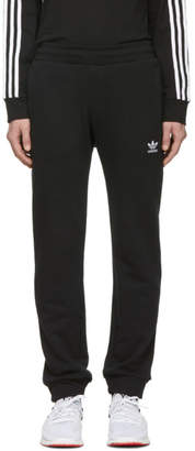adidas Black Trefoil Lounge Pants