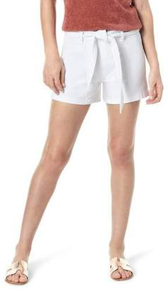 Joe's Jeans High-Rise Belted Shorts