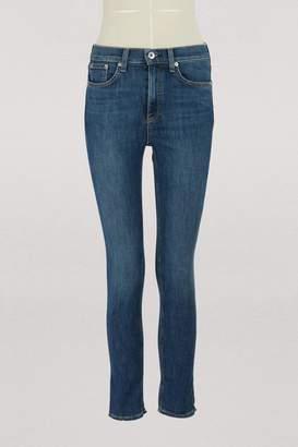 Rag & Bone High waisted ankle skinny jeans