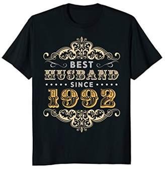 26th Wedding Anniversary Gift 26 yrs Best Husband Since 1992
