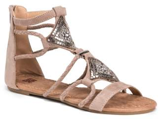 Muk Luks Rosa Gladiator Sandal