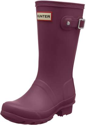 Hunter Boots Girls' Original Young Rain Boot 1 M US