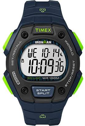 Timex Men's TW5M11600 Ironman Classic 30 Resin Strap Watch