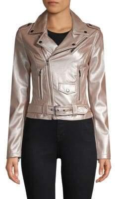 Moto Belted Jacket