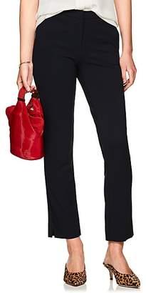 Derek Lam Women's Drake Crepe Slim Ankle Trousers - Navy