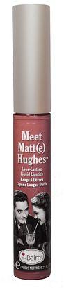 TheBalm Meet Matt(e) Hughes Long-Lasting Matte Liquid Lipstick $17 thestylecure.com