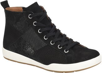 Comfortiva Patchwork Hightop Sneakers - Lupine