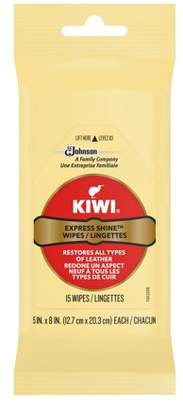 Kiwi Express Clean and Shine Wipes 15 ct