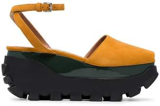 Marni 80 suede flatform sandals