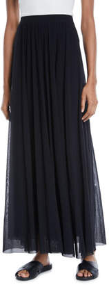 Fuzzi Tulle Full Maxi Skirt