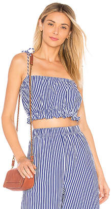 MDS Stripes Taylor Cropped Cami