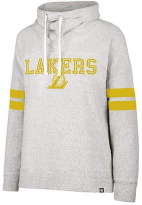 '47 Women's Los Angeles Lakers Offsides Funnelneck Sweatshirt