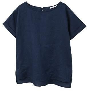MANGO Linen blouse