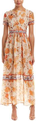 DAY Birger et Mikkelsen BURRYCO Burryco Silk-Blend Maxi Dress