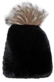 Chloé Rabbit Fur Beanie