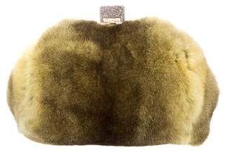 Edie Parker Fur Small Parker Bag w/ Tags
