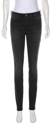 MiH Jeans The Bodycon Mid-Rise Jeans w/ Tags