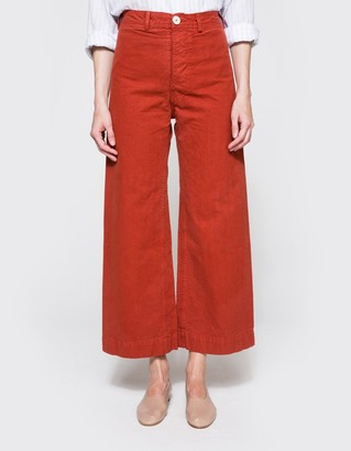Sailor Pant in Iron Oxide $395 thestylecure.com