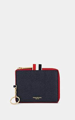 Thom Browne Men's Triangle Leather Coin Case
