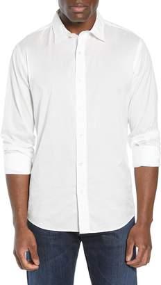Faherty Stretch AMK Poplin Sport Shirt