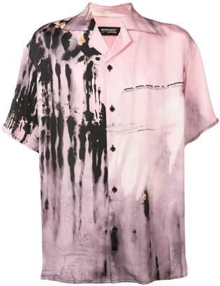 Represent tie-dye print shirt