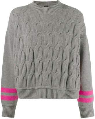 Pinko twist knit jumper