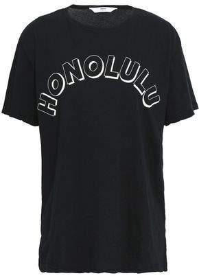 Mikoh Printed Cotton-jersey T-shirt