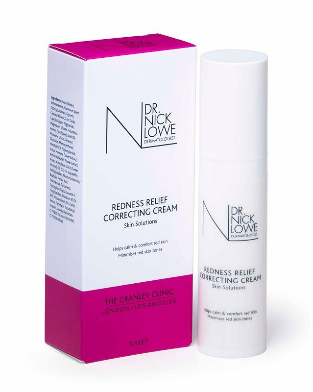 Dr Nick Lowe Redness Relief Correcting Cream 50ml