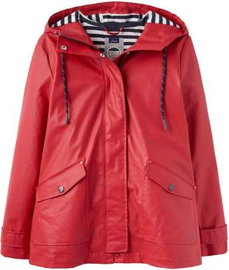 Next Womens Joules Red Sailaway Short Raincoat